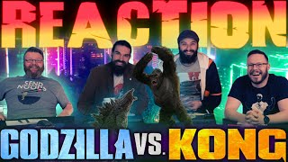 Godzilla vs. Kong - MOVIE REACTION!!