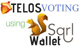 Telos Voting Using SQRL + Setting Vote Proxy