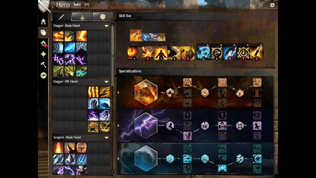 Guild Wars  Pvp Elementalist Build