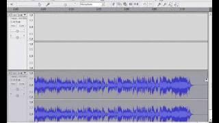 Объединение звуковых дорожек в Audacity(Увы техника меня подвела, и ролик получился не очень качественный. но тем не менее, он все же научит вас дела..., 2011-12-28T23:11:46.000Z)