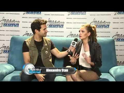 Entrevista a Alexandra Stan en México Suena