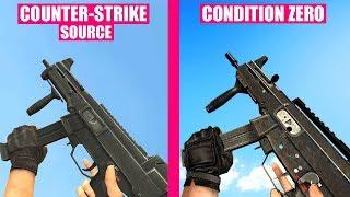 Counter-Strike Source Gun Sounds vs Counter-Strike Condition Zero