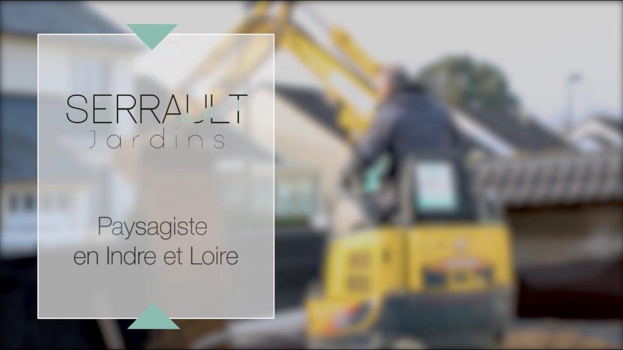 Paysagiste Indre Et Loire serrault jardins paysagiste à la ville aux dames - youtube