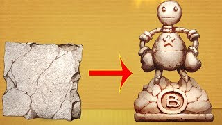 Cement Monument vs Funny Buddy | Gameplay Walkthrough #37 #Kickthebuddy