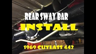 GM Muscle Car rear sway bar upgrade / install 1969 A Body || EP. 15