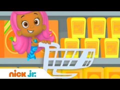 Покупки в магазине | Гуппи и пузырики | Nick Jr. Россия