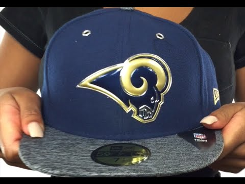 Rams  2016 NFL DRAFT  Fitted Hat by New Era - YouTube c987cac25a2a