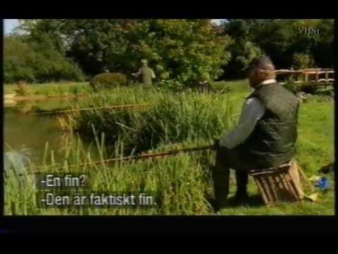 Mörtfiske (Roach fishing) med Geoffrey Palmer (Svensk text)