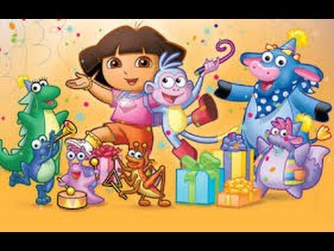 Baby Dora Boots Birthday Party Decor - YouTube