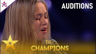 Gambar cover Connie Talbot: Incredible Singer WOWS Simon Cowell With Emotional Original!| BGT: The Champions