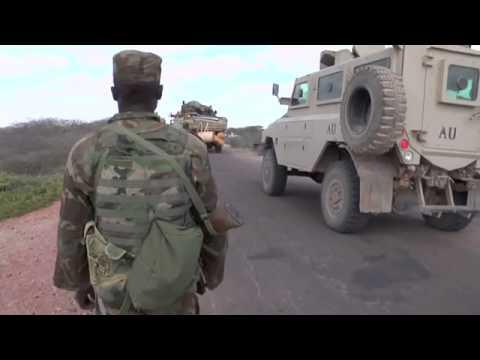 Amison Troops Enter Bay Region | Gelitaankii Ciidamadda Amisom ee Gobolka Bay