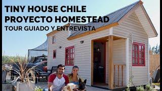 🏡 Tiny House Chile Santiago ✅ Tour Guiado Homestead