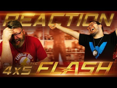 "The Flash 4x5 REACTION!! ""Girls Night Out"""