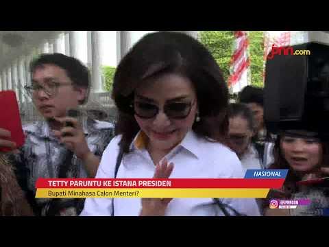 Tetty Paruntu Batal Menghadap Jokowi Setelah Ketemu Airlangga Hartarto