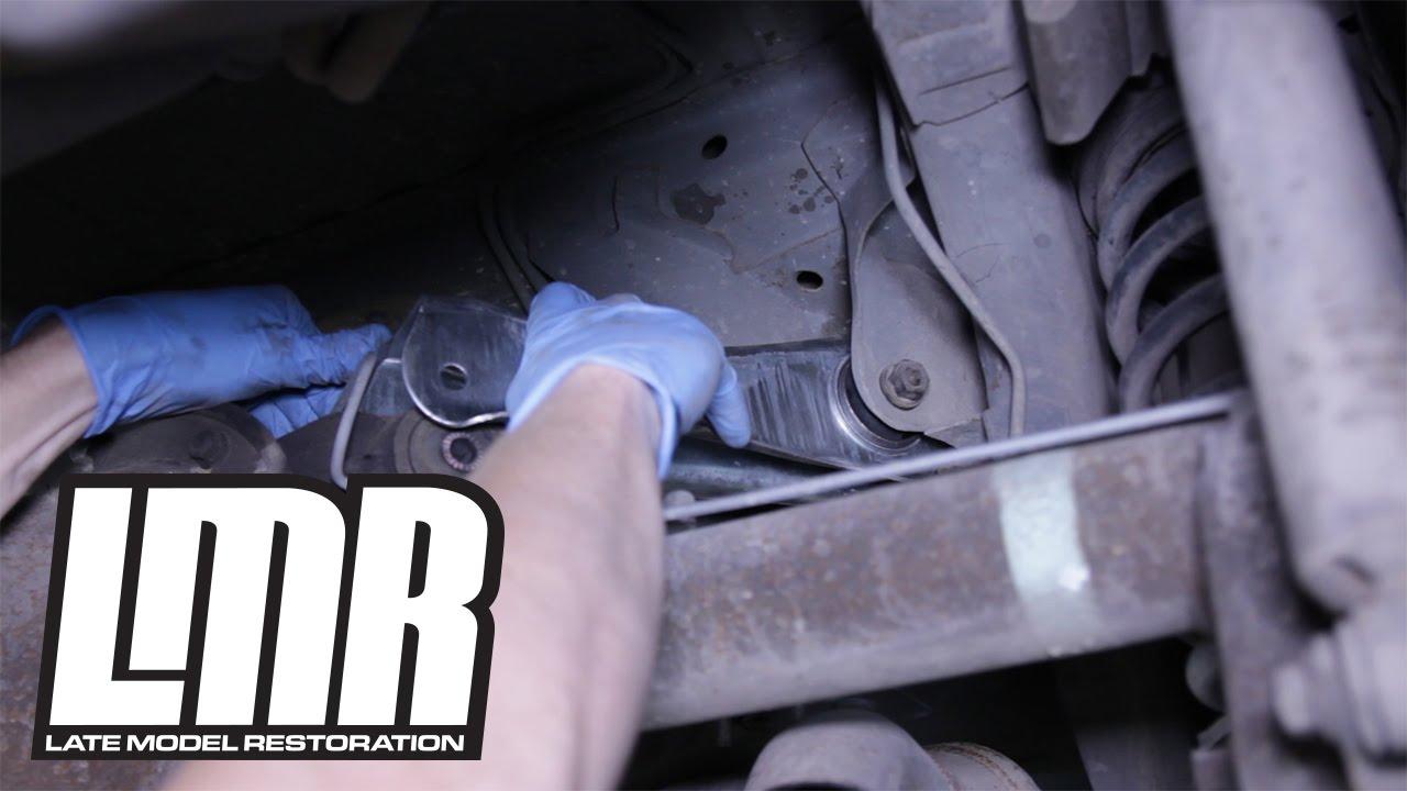 01 03 04 Mustang Cobra IRS Rubber Rear Upper Control Trailing Arm Bushings 99