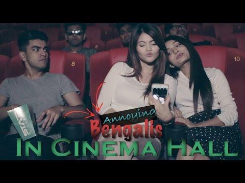 Bengalis In Cinema Hall