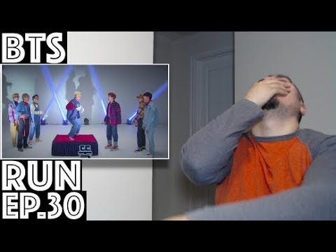 BTS Dance Cut (RUN EP  30) Reaction