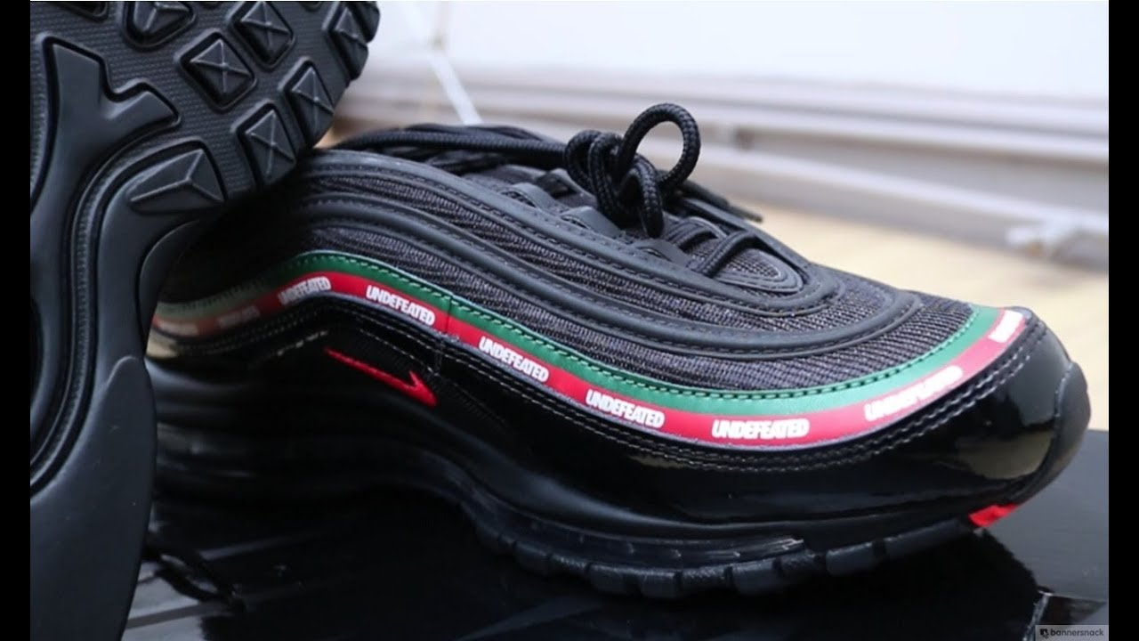 competitive price 3c132 7ea05 Nike Air Max 97 OG 'UNDEFEATED' UNBOXING GUCCI