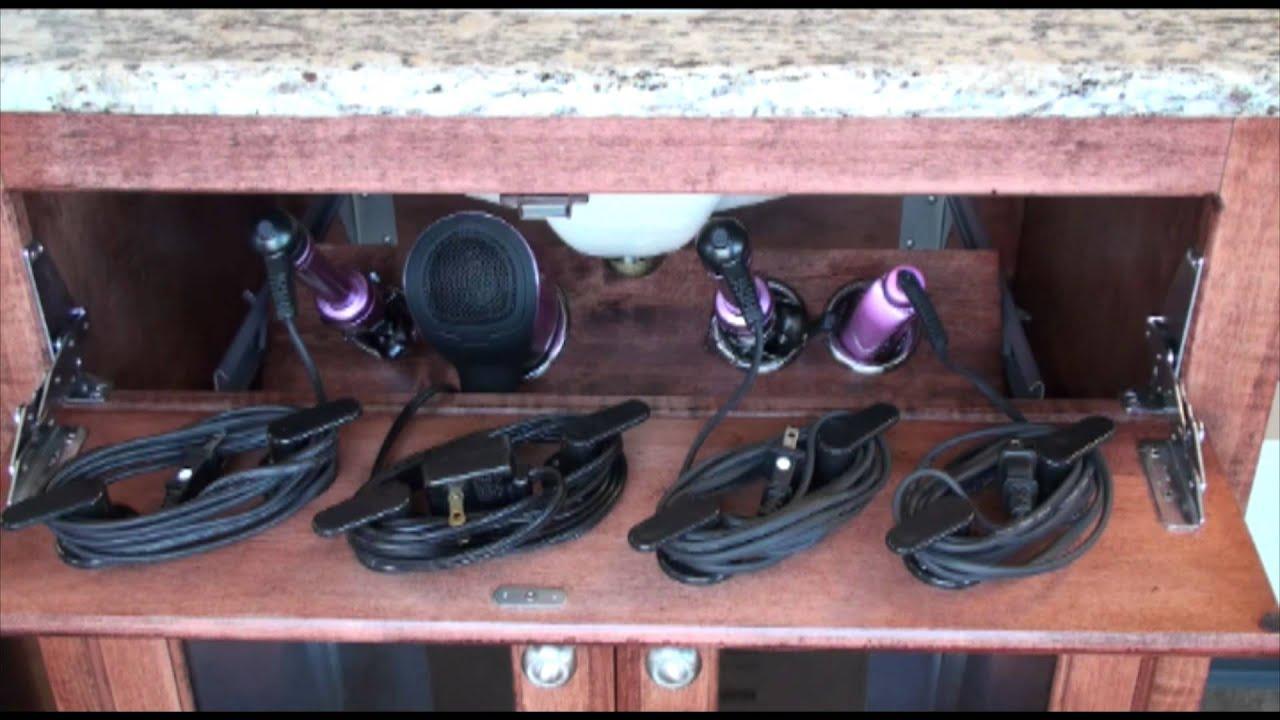 POJJO  Vanity Valet Secret Blow dryer curling iron