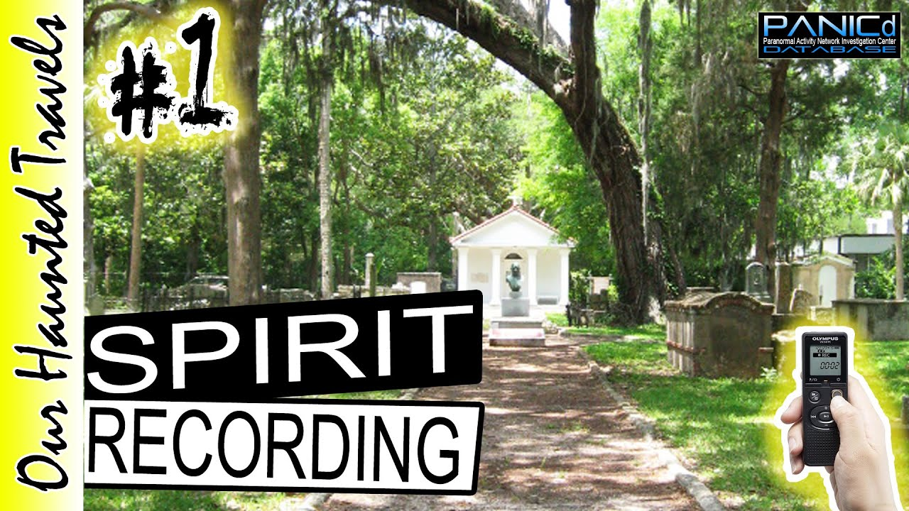 Tolomato Cemetery Ghost Caught on Tape Walk over There by: PANICd Paranormal History