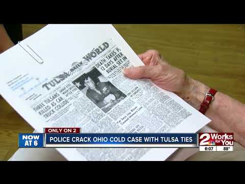 Police crack Ohio cold case with Tulsa ties