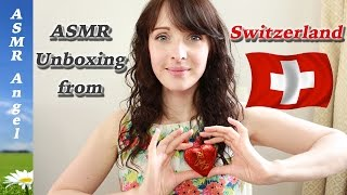 ASMR Unboxing, Eating and Soft Speaking Video - Food from Switzerland(An ASMR inducing box of goodness all the way from Switzerland, full of crinkles, tingles and tastes. In case you're interested in trying some of the perfumes from ..., 2016-09-21T17:47:25.000Z)