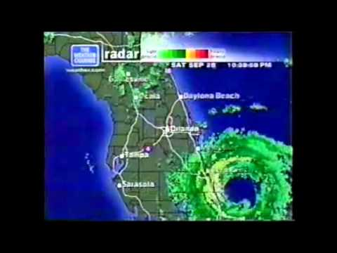 weather channel florida map