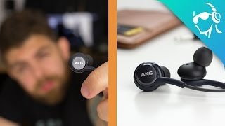 What comes with the Samsung Galaxy S8? These AKG earbuds