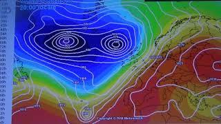 L' ouragan Leslie en direction du Portugal et de l'Espagne