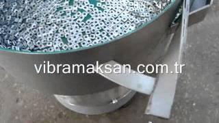 vibratory bowl feeder for terminal nut terminal somun vibratoru 6 vibramaksan 255