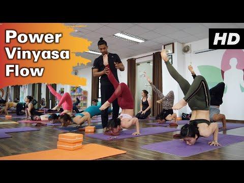 20 Minutes Power Vinyasa Flow | Raja Gupta Yoga Class