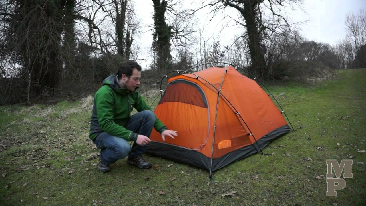 & Force Ten Argon 200 semi geodesic tent - YouTube