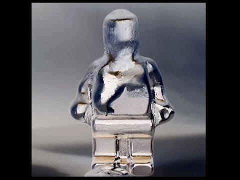 Melting A Gallium LEGO Man