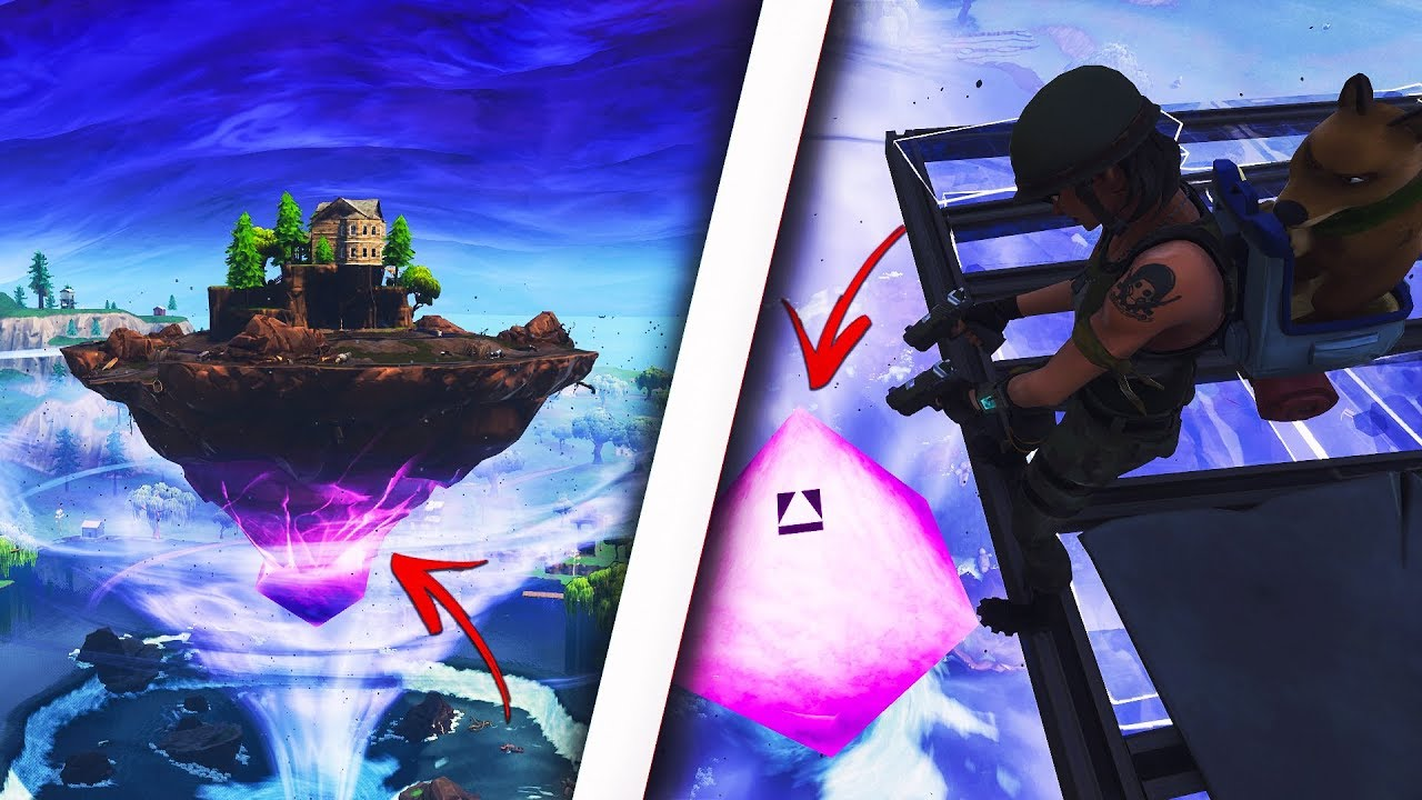 How to get inside the FLOATING ISLAND in Fortnite! Get inside SECRET ISLAND! (Fortnite Glitch)