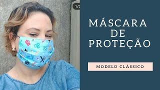 Como fazer uma máscara de proteção modelo clássico