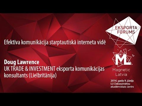 Eksporta forums 2016 | Creating an international niche online