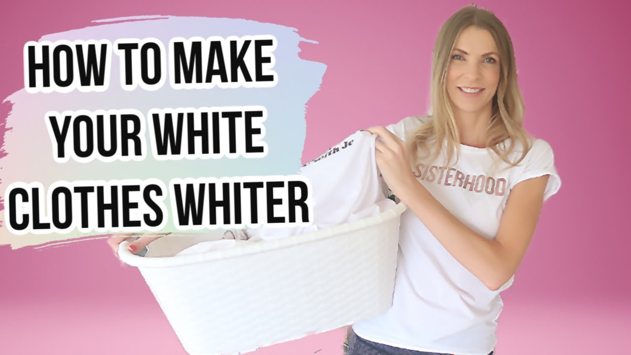How to make your white clothes whiter
