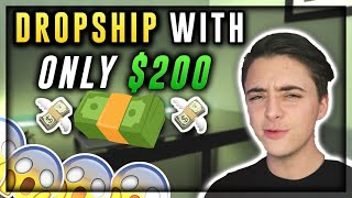 HOW-TO START WITH ONLY $200 | Shopify Dropshipping