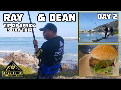 Drone Fishing From Guesthouse Deck + Silverfish Burger Recipe [Pt. 2/3] Cape Agulhas, ZA