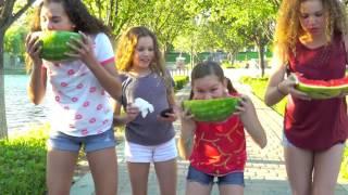 Watermelon Eating Contest (Haschak Sisters) John HjTrue