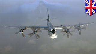 Russia vs UK: RAF sends Typhoon jets to intercept two Russian TU-95 bombers