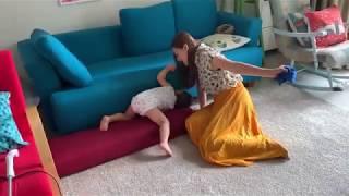 Mẹ xử lí thế nào khi Lina giận dữ gào khóc