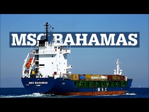 Cargo Container Vessel | MSC BAHAMAS