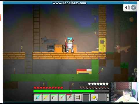 Игра Майнкрафт - блоки онлайн( собака)(9 Серия)