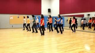 Summertime Roll - Line Dance (Dance & Teach in English & 中文)