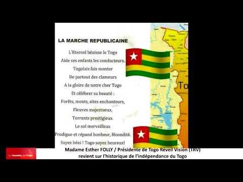 Esther FOLLY, Présidente de Togo Réveil Vision (TRV) parle de l'indépendance du Togo
