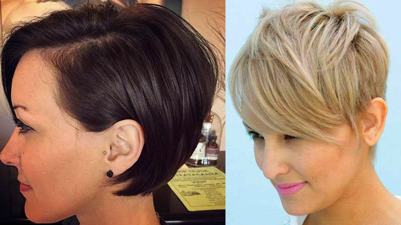cortes de cabello cortos modernos para jovenes mujeres 2017 nuevos cortes de cabello corto 2017 - Pelos Cortos Modernos