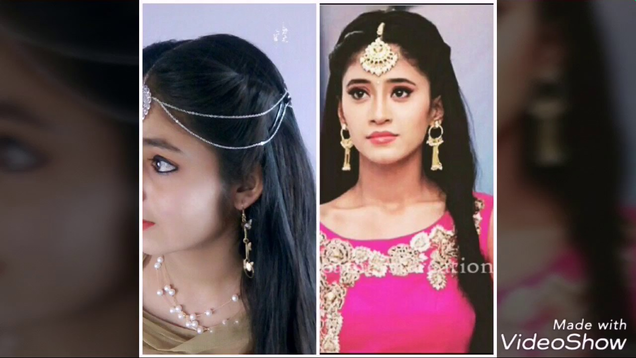 Simple Headband Hairstyle For Girls Mangtika Hairstyle Nayra Inspired Hairstyle