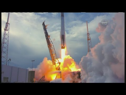 SpaceX Falcon 9 Launches Reused Cargo Ship To Space Station
