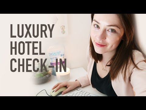 Hotel Check In With Typing (Old School Sound) | ASMR Roleplay
